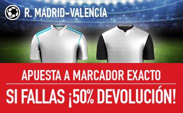 Sportium Real Madrid Valencia