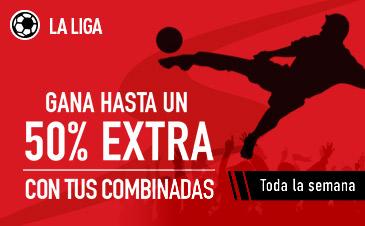 Sportium la Liga 50% extra combinadas