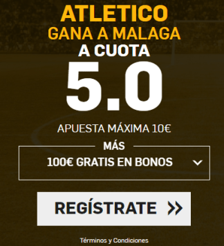 Supercuota Betfair Atlético Málaga