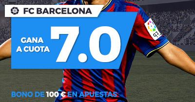 Supercuota Paston - Fc Barcelona gana a cuota 7.0