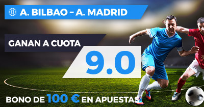 Supercuota Paston la Liga A Bilbao - A. Madrid