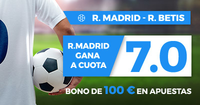 Supercuota Paston la Liga R. Madrid - R Betis