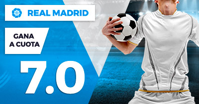 Supercuota Paston la Liga - Real Madrid gana a cuota 7.0