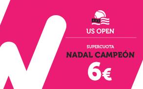 Supercuota Wanabet Nadal campeón