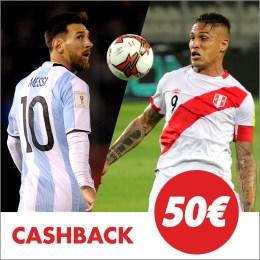 Circus Israel vs España cashback 50€