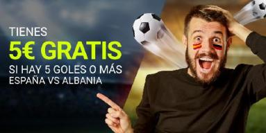 Luckia CLasificacion al Mundial 5€ gratis
