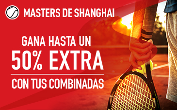 Sportium Masters de Shangai 50% extra en combinadas