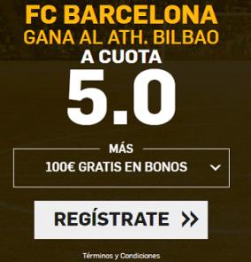 Supercuota Betfair la liga - FC Barcelona vs Athletic