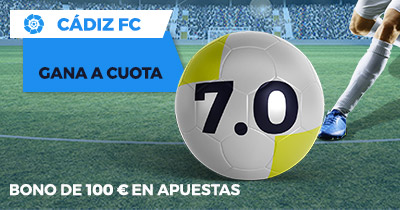 Supercuota Paston Cadiz FC gana a cuota 7.0