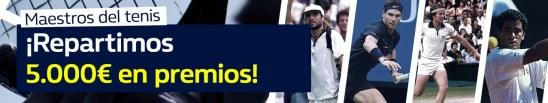 WilliamHill Maestros del Tenis 5.000€ en premios