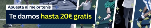 Williamhill 20€ gratis tenis