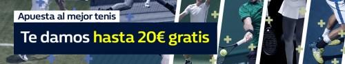 Williamhill 20€ gratis tenis