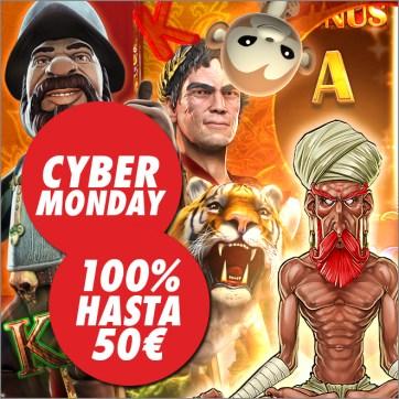 Circus Cyber monday bono 100% hasta 50€