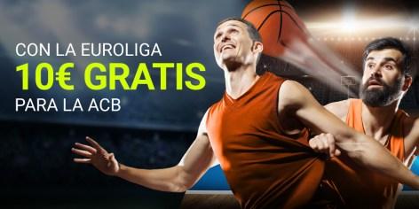Luckia Euroliga 10€ gratis para la ACB