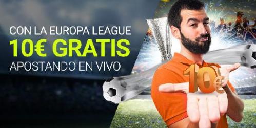 Luckia Europa League 10€ gratis
