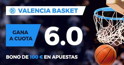 Paston Valencia Basket gana a cuota 6.0
