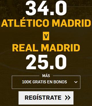 Supercuota Betfair la Liga Atlético - R. Madrid