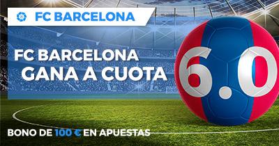 Supercuota Paston la Liga - Barcelona gana a cuota 6.0