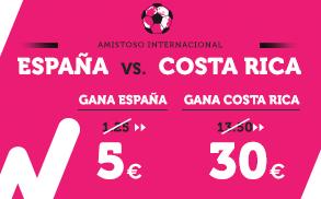 Supercuota Wanabet Mundial - España vs Costa Rica