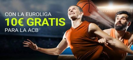 Luckia 10€ gratis para la ACB
