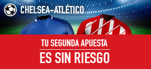 Sportium Champions Chelsea - Atletico sin riesgo