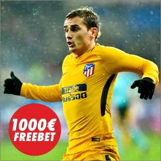 Circus Copa del Rey 1000€ Freebet