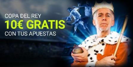 Luckia Copa del Rey 10€ gratis