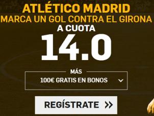 Supercuota Betfair la Liga Atlético Madrid - Girona