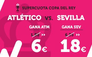 Supercuota Wanabet Copa del Rey Atletico Sevilla