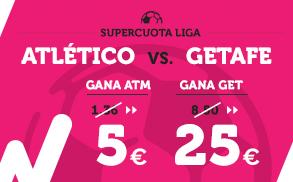 Supercuota Wanabet la Liga Atlético - Getafe