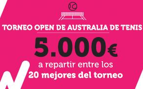 Wanabet torneo open australia 5000€ a repartir