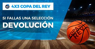 Paston Baloncesto Copa del Rey devolución