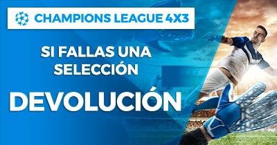 Paston Champions League 4x3 devolución