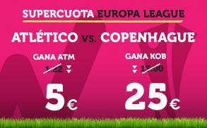 Supercuota Wanabet Europa League Atlético - Copenhague