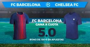 Supercuota Paston Champions League FC Barcelona - Chelsea FC