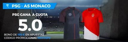 Noticias Apuestas, Supercuota Paston Liga Francesa PSG - AS Monaco
