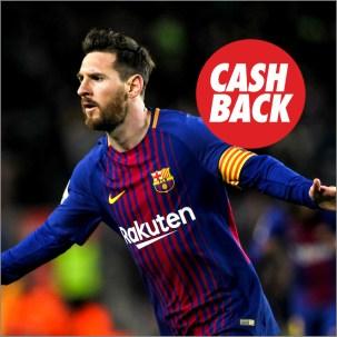 Noticias Apuestas Circus FC Barcelona - Valencia cashback