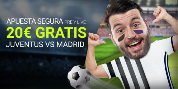Noticias Apuestas Luckia Apuesta segura Juventus vs R. Madrid 20€ gratis