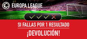 Noticias Apuestas Sportium E. League: Si fallas una combinada por 1 solo resultado ¡Devolución!