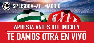 Noticias Apuestas Sportium Europa League SP. Lisboa - Atl. Madrid apuesta antes y te damos otra
