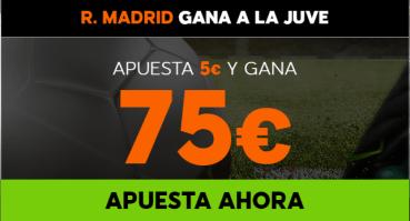noticias apuestas Supercuota 888sport Champions R. Madrid gana Juve
