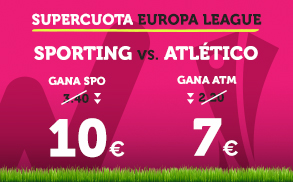 Supercuota Wanabet Europa League Sporting - Atlético