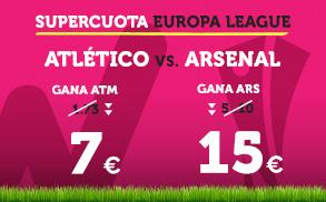 noticias apuestas Wanabet Europa League Atletico vs Arsenal