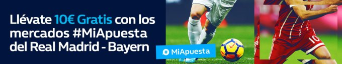 noticias apuestas William Hill Champions Real Madrid - Bayern 10€ gratis