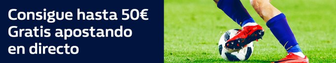 Noticias Apuestas William Hill hasta 50€ gratis apostando en directo, sólo 12 de abril!