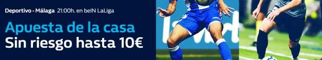 Noticias Apuestas William Hill la Liga Deportivo - Málaga apuesta sin riesgo hasta 10€