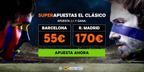 noticias apuestas 888sport Supercuota el Clásico Barcelona - R. Madrid