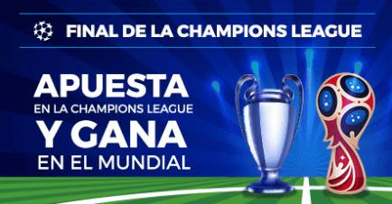 noticias apuestas Paston Final Champions League Apuesta y gana en el Mundial