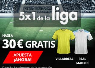 noticias apuestas Suertia 5x1 la Liga hasta 30€ gratis