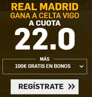 noticias apuestas Supercuota Betfair la Liga Real Madrid - Celta Vigo